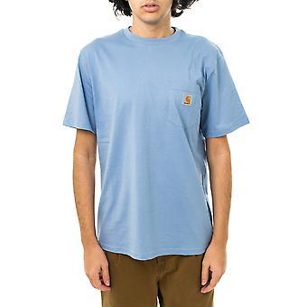 Camiseta de hombre carhartt wip s / s camiseta de bolsillo i022091.wv