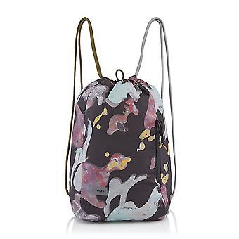 Crumpler Squid L Drawstring Backpack black liquid camo 15 L