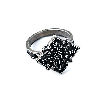 Dishonored 2 Emily Anime Ring Alloy Finger Ring Pour Cosplay Noir