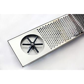 Stainless Steel Glass Rinser Drip Tray/bar Glass