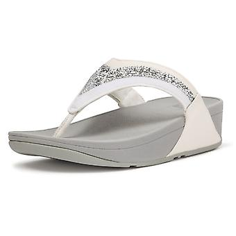 FitFlop Fitflop Lulu Ombre Toe Post Sandals In Urban White