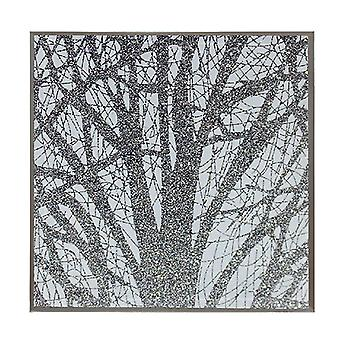 Silver Glass Woodland Conjunto de 4 Posavasos por Lesser &pavey