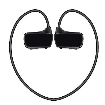 Headset Bluetooth Kopfhörer Stereo Kopfhörer (Schwarz)