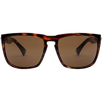 Electric California Knoxville XL Sunglasses - Darkside Tortoise Shell/Polarized Grey