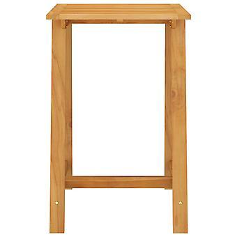 vidaXL tuinbar tafel 70x70x104 cm acacia massief hout