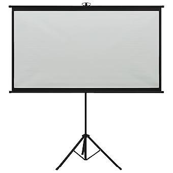 """vidaXL beamer scherm met statief 100"""" 4:3"""