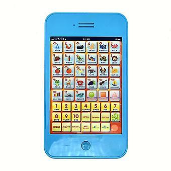 Ny spansk studie bordlæring maskin touch stemme pedagogiske barn leketøy