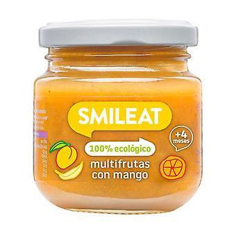 Multifruit jar with organic mango 130 g