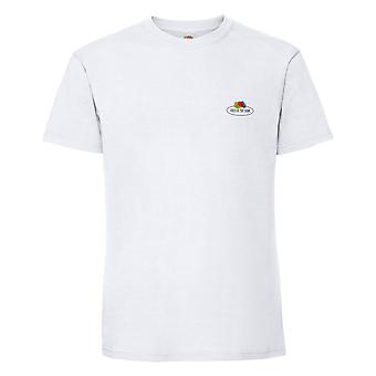 Fruit of the Loom Mens Vintage Small Logo T-Shirt