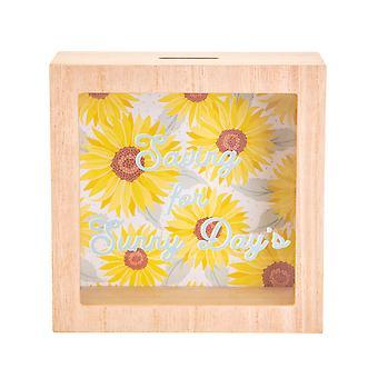 Sass & Belle Sunflower Sunny Days Money Box