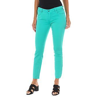 MET pantalones de mujer X-Amanda azul claro