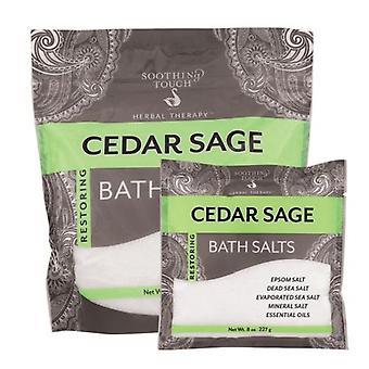 Soothing Touch Bath Salts, Cedar Sage 32 Oz