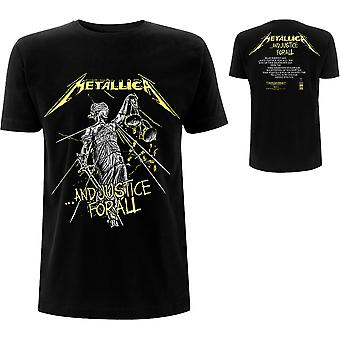 Metallica - And Justice For All Tracks Men's Large T-Shirt - Noir