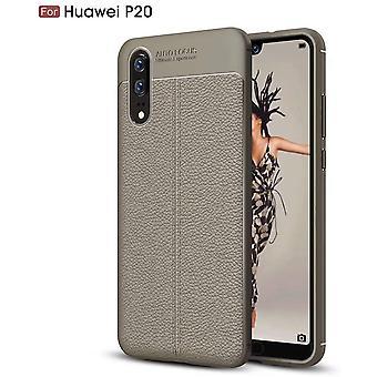 Mobiltelefon sak For Huawei P20 Sklisikker Anti-fingeravtrykk Anti-fall