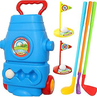 ילדים פנימיים וחיצוניים אינטראקטיבי כושר צעצועים צעצועים סימולציה מועדון גולף סט(GROUP1)