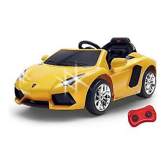 Kinder Elektroauto Lamborghini Aventador Feber Akku 6 V Gelb (128 x 68 x 47 cm)
