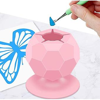 Suctioned Vinyl Weeding Scrap Collector, Silicone Suction Cups , Craft Waste Collector Tools
