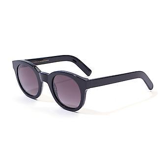 Monokel Eyewear Shiro Black Gradient Grey Lens Sunglasses