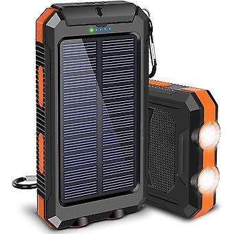 Jumbo Capacity 8000mAh Solar Waterproof Power Bank