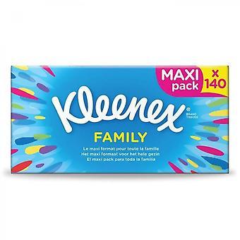 Kleenex Pack De 140 Mouchoirs Family - Maxi Pack