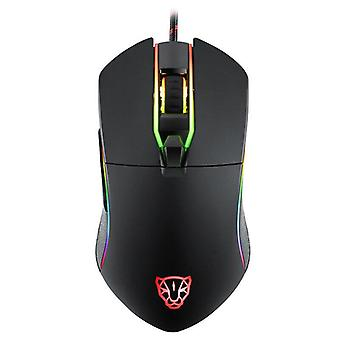 V30 USB Wired Gaming Mouse 3500DPI Mice with LED Backlit for OSU Game Player