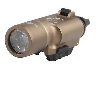 Tactical Weapon- Pistol Gun, White Led, Hunting Flashlight