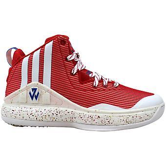 Adidas John Wall J Scarlet Rouge/Blanc S84211 Grade-School