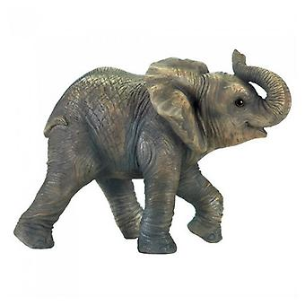 Accent Plus Realistic Happy Elephant Figurine, Pack of 1
