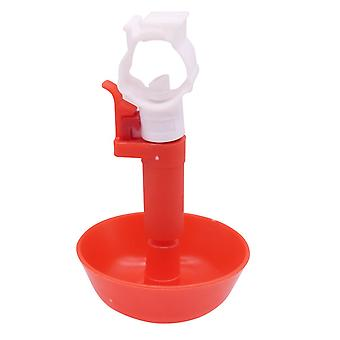20pcs Nouvelle tasse suspendue Mamelon Buveur Pipe à eau 25mm Match Poulet Oiseaux Pigeons Tasse à boire universelle