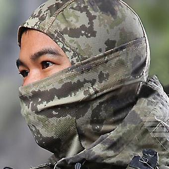 Армия Военный Камуфляж Балаклава Полное Лицо Маска Охотничий Шарф Шлем