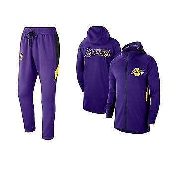 Los Angeles Lakers Baschet Pulover Hoodie Set