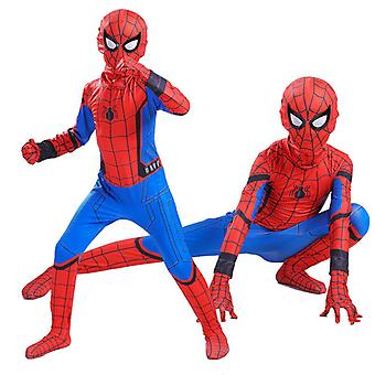 Gyerekek Spiderman Cosplay Suit Home Spiderman jelmez Halloween Cosplay jelmez
