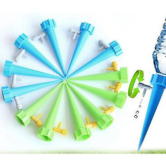 6/12pcs Plant And Flower Automatic Watering Head, Automatic Drip Irrigation System, Household Water Bottle