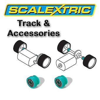 Scalextric accessoires - bal Race lagers Pack van 2