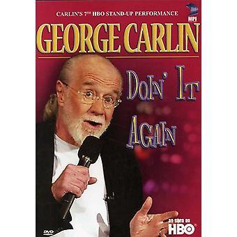 George Carlin - Carlin Doin It Again [DVD] USA import