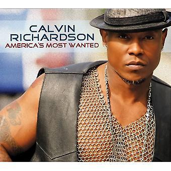 Calvin Richardson - importation USA Most Wanted [CD] de l'Amérique