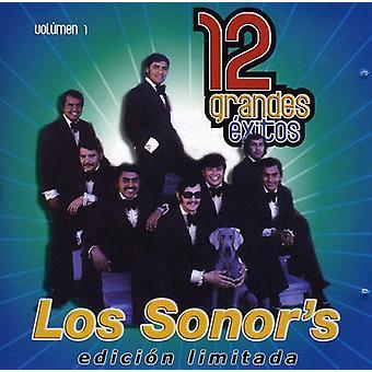 Los Sonor's - Los Sonor's: Vol. 1-12 Grandes Exitos [CD] USA import