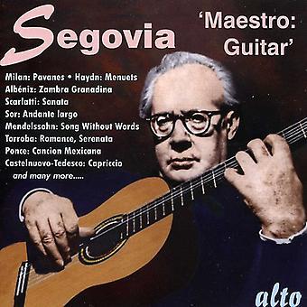Andrts Segovia - importación de Estados Unidos Maestro guitarra [CD]