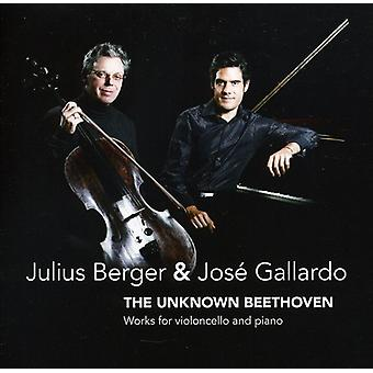 L.V. Beethoven - The Unknown Beethoven [CD] USA import