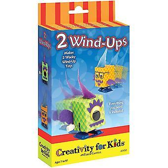Kreativitet for børn - Mini Kit 2 Wind-ups