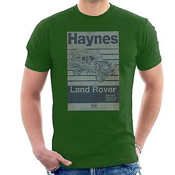 Haynes Workshop Manual Land Rover Stripe Men's T-Shirt