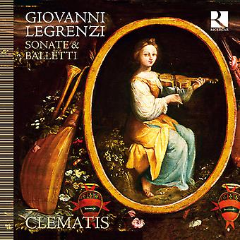 Clematis - Giovanni Legrenzi: Sonate & Balletti [CD] USA import
