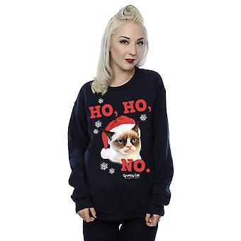 Grumpy Cat Women's Ho Ho No Christmas Sweatshirt