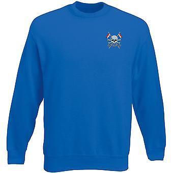 Die Royal Lancers bestickt Logo - offizielle britische Armee Heavyweight Sweatshirt