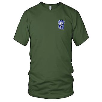 US Army - Airborne Yuma Territorial Chapter Embroidered Patch - Mens T Shirt