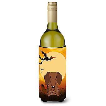 Halloween jamnik brązowy butelka Beverge izolator Hugger