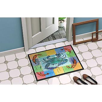 Carolines Treasures  8040-MAT Crab  Indoor or Outdoor Mat 18x27 8040 Doormat