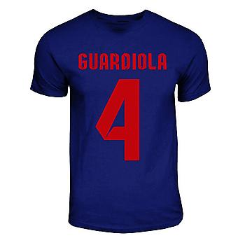 Pep Guardiola Barcelona Hero T-shirt (navy)