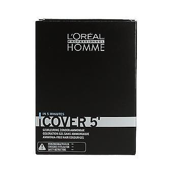 L'Oréal Professionnel Homme Grey Cover No 3 Dark Brown 3 x 50ml