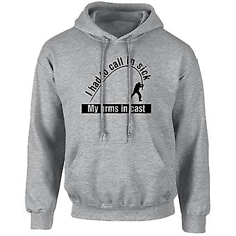 Arms In Cast Funny Fishing, Angling Unisex Hoodie 10 Colours (S-5XL) by swagwear